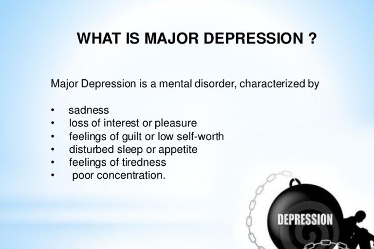 Major Depressive Disorder and Depression