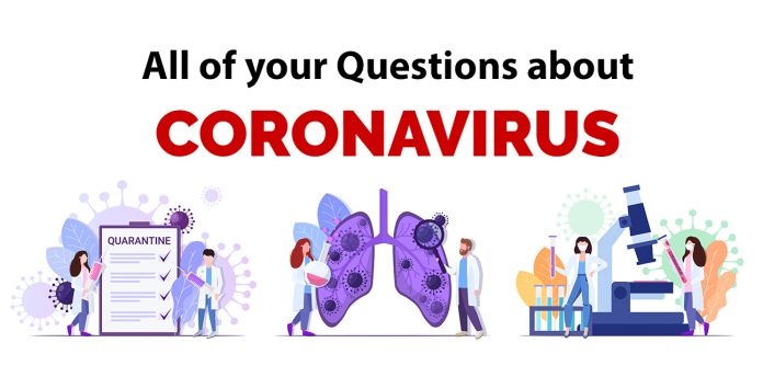 questions about coronavirus answered