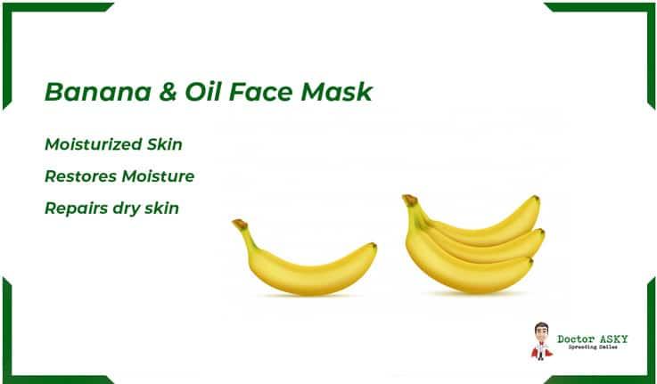 Banana & Oil Face Mask
