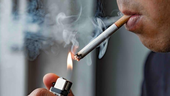 How do cigarettes affect the body?