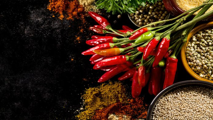 What makes peppers spicy?